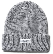 Diamond Supply Stone Cut Beanie, Speckle White