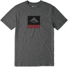 Emerica Combo Tee, Charcoal Heather