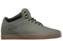 Emerica Hsu G6 Weatherized Shoes, Grey Gum Red