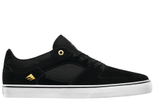 Emerica The HSU Low Vulc Shoes, Black White