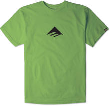 Emerica Triangle Tee, Neon Green