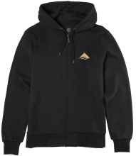 Emerica Triangle Zip Hoodie, Black