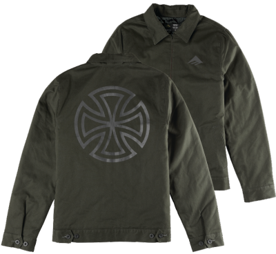Emerica X Independent Mobill Jacket, Green