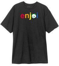 Enjoi No Brainer Tee, Black