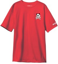 Enjoi Skully Panda Tee, Red