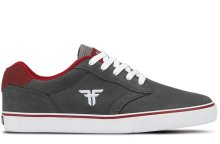 Fallen Slash Shoe, Ash Grey Blood Red