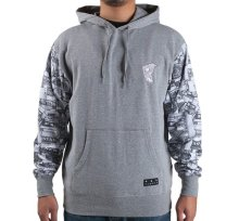 Famous Looter Hoodie, Heather Grey