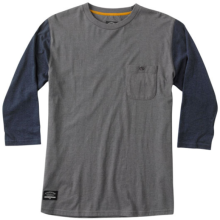 Fourstar Leavenworth 3/4 Tee, Gunmetal