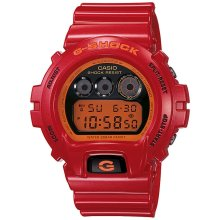 G-Shock Watch 6900, Metallic Red