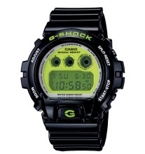 G-Shock Watch DW6900CS-1, Black Green