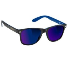 Glassy Leonard Sunglasses, Black Blue Mirror
