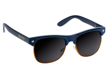 Glassy Shredder Sunglasses, Navy Orange