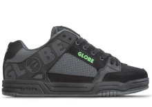 Globe Tilt Shoes, Black Camo Moto Green
