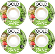 Gold Gang Dane Wheels 51mm