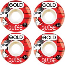 Gold Gang Quise Wheels 52mm