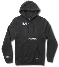 Grizzly Bad Flag Hoodie, Black