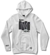 Grizzly Bad Flag Hoodie, White