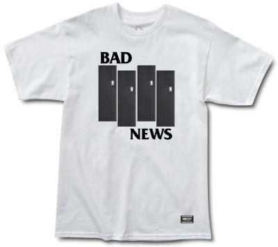 Grizzly Bad Flag Tee, White