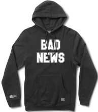Grizzly Bad News 2 Hoodie, Black