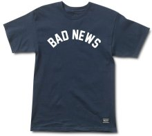 Grizzly Bad News Tee, Navy