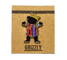 Grizzly Biggie Bear Pin