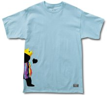 Grizzly Biggie Bear Tee, Powder Blue