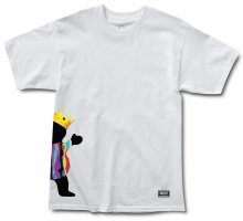 Grizzly Biggie Bear Tee, White