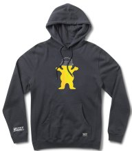 Grizzly Boo Johnson Pro Hoodie, Navy