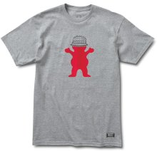 Grizzly Boo Johnson Pro Tee, Heather Grey