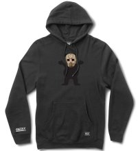 Grizzly Chris Joslin OG Bear Hoodie, Black