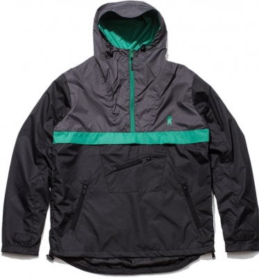 Grizzly Cross Country Anorak Jacket Black