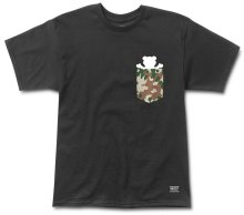 Grizzly Desert Flecktarn Pocket Tee, Black