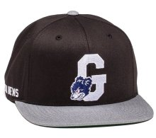 Grizzly Down and Dirty Snapback, Black