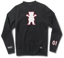Grizzly Draft Pick OG Bear Crewneck, Black