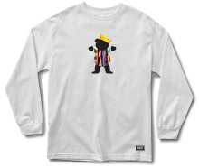 Grizzly Felipe Gustavo Pro LS Tee, White