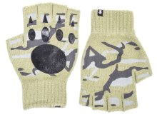 Grizzly Fingerless Gloves, Olive