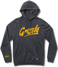 Grizzly Freehand Hoodie, Navy
