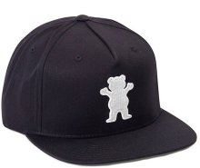Grizzly OG Bear Snapback, Black