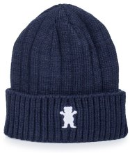 Grizzly Raised OG Bear Beanie, Navy