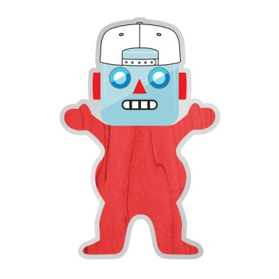 Grizzly Shanebot Sticker