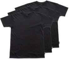 Grizzly Tagless 3 Pack Tees, Black