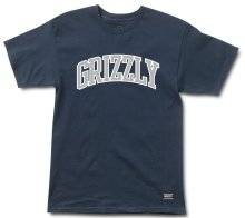 Grizzly Top Team Tee, Navy