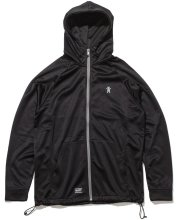 Grizzly Turf Burn Zip Hoodie, Black