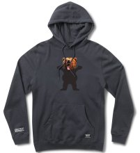 Grizzly Yosemite Bear Hoodie, Navy