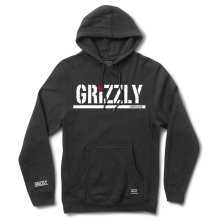 RDS X Grizzly RDS Stamp Hoodie, Black