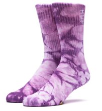HUF Acid Socks, Purple Tie Dye
