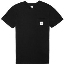 HUF Box Logo Pocket Tee, Black
