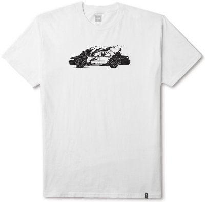 HUF Cop Car Tee, White