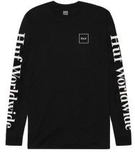 HUF Domestic LS Tee, Black