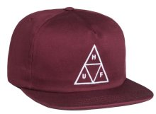 HUF Triple Triangle Snapback, Wine